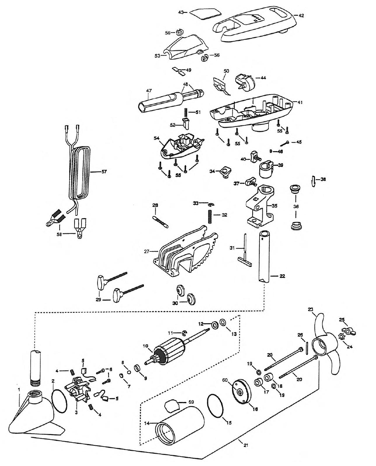Diagram Of 1989 Motorguide Trolling Motor 9001183uj Wiring Harness