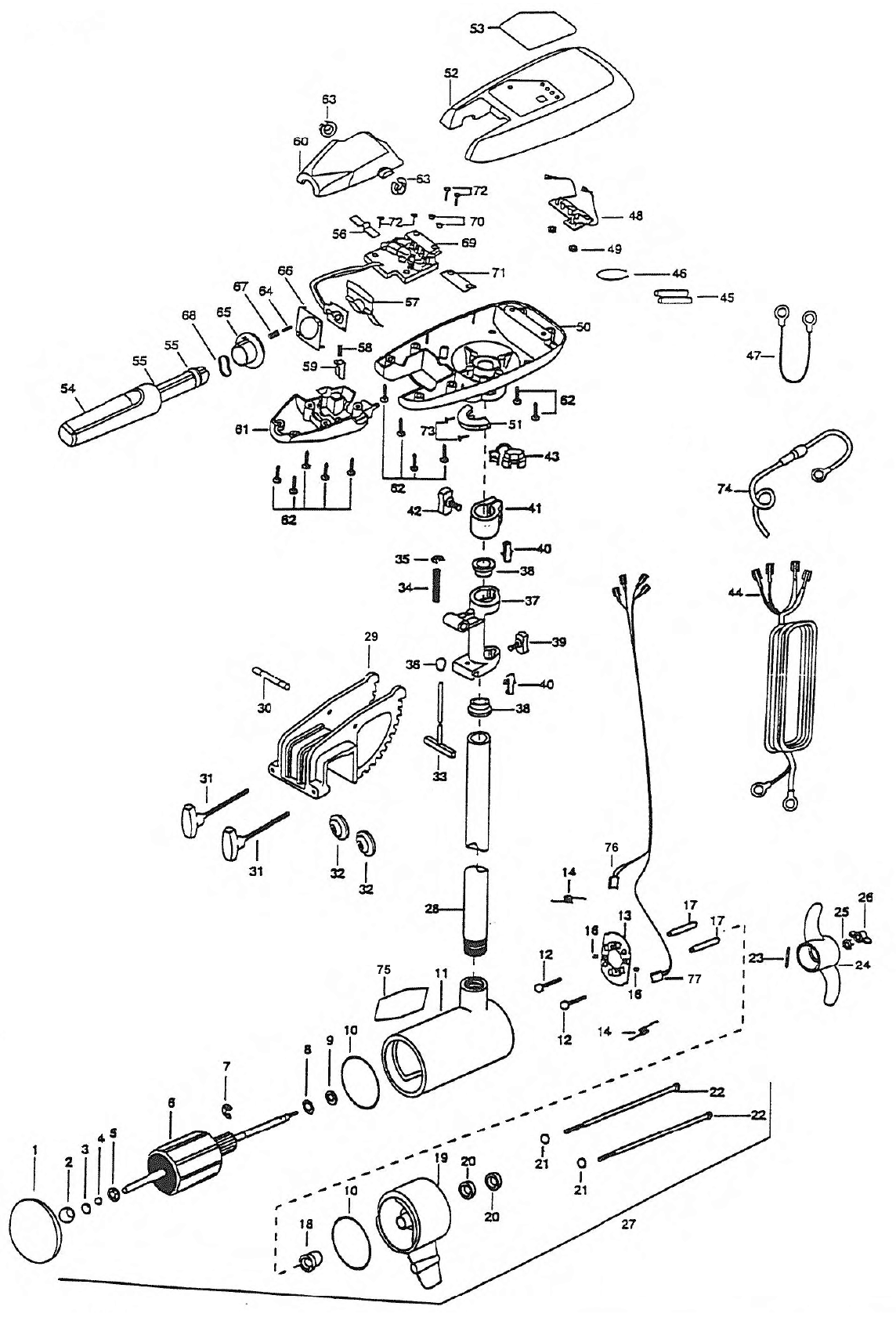 Minn Kota Diagram Trolling Parts as well 13518 in addition T14942766 Need wiring diagram old silvertrol also Minn Kota Motors Schematics as well 36 Volt Minn Kota Wiring Diagram. on wiring 24 volt trolling motor