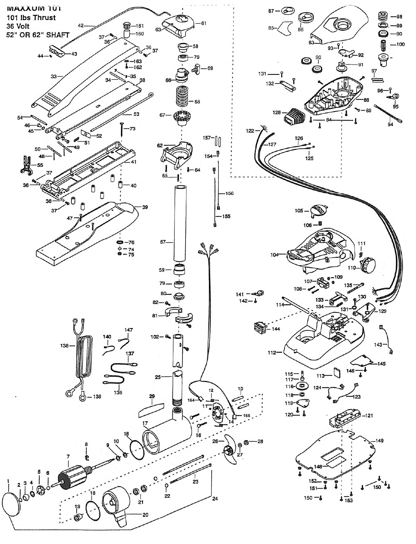 1999_MK_MAX101 52 62 minn kota maxxum 101 (52 inch) parts 1999 from fish307 com minn kota maxxum 74 wiring diagram at crackthecode.co