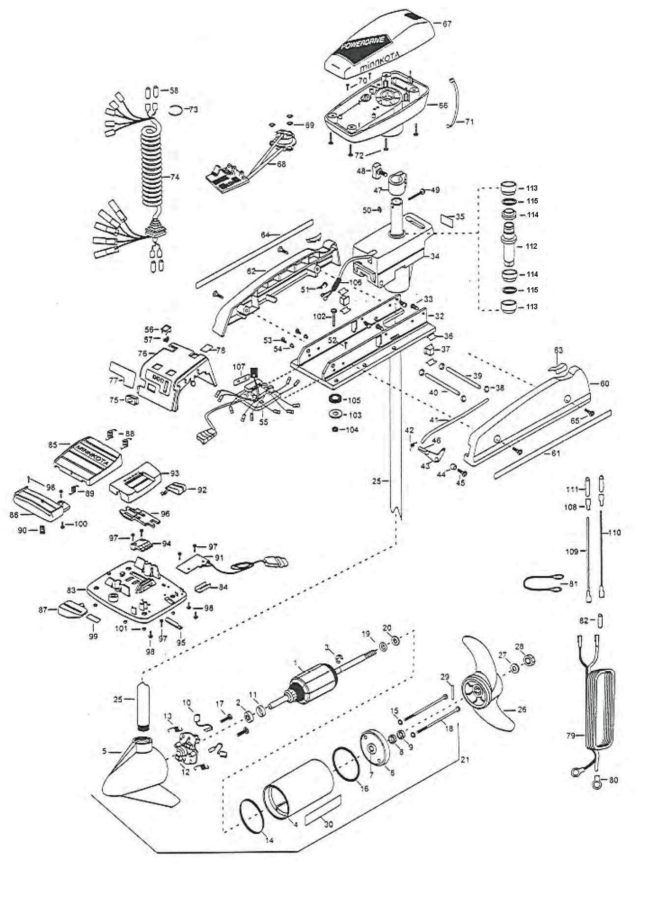 minn kota auto pilot wiring diagram minn kota 36 volt wiring diagram #8