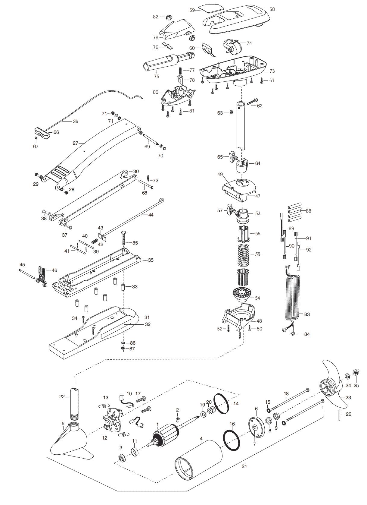 minn kota riptide 55 sc b 52 inch parts 2003 from fish307 B-52 Cutaway expand product diagram