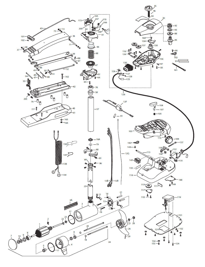 minn kota 30 parts diagram penn parts diagram