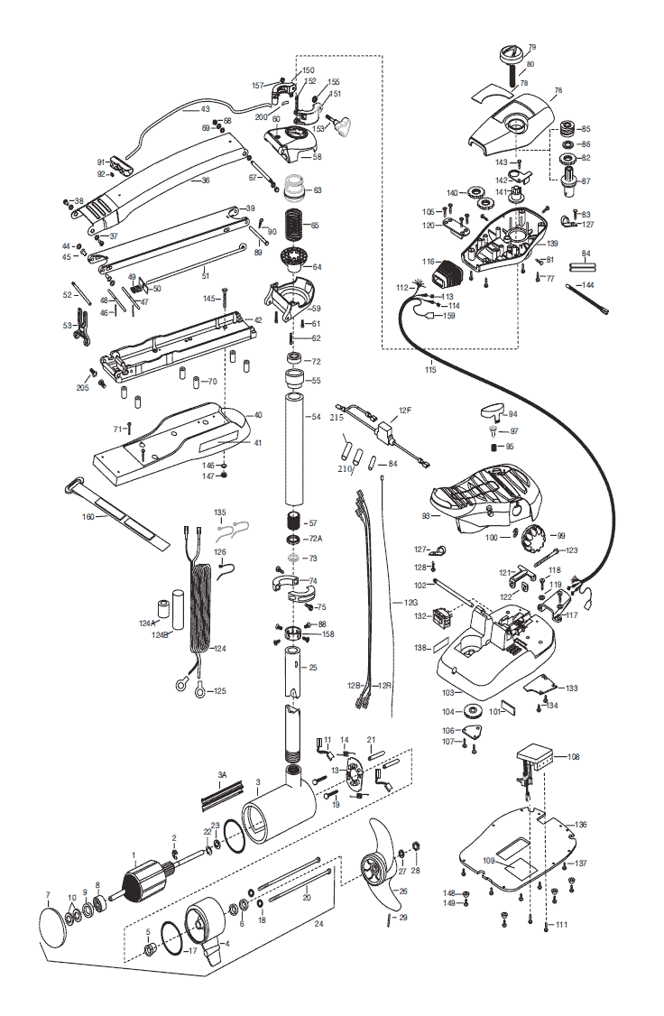 2015_MK_Max80 52inch minn kota max 80 (52 inch) parts 2015 from fish307 com minn kota maxxum 74 wiring diagram at crackthecode.co