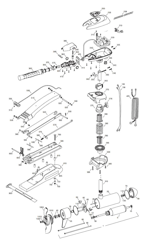 2015_MK_Max80handcontrol minn kota max 80 hand control parts 2015 from fish307 com minn kota riptide 70 wiring diagram at virtualis.co