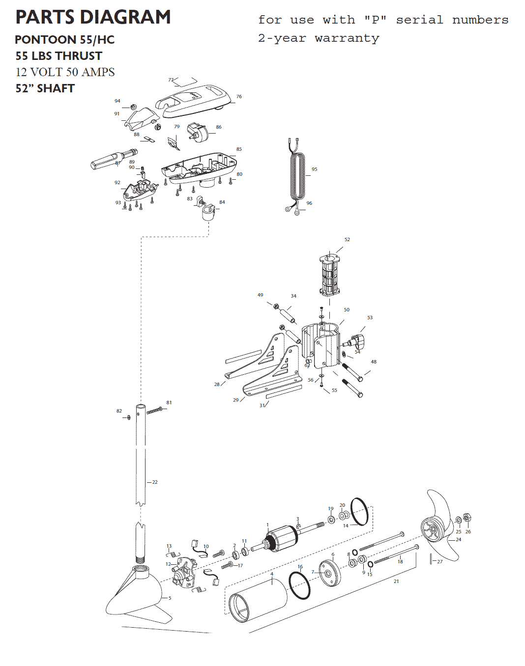 minn kota pontoon 55 hand control parts 2015 from. Black Bedroom Furniture Sets. Home Design Ideas