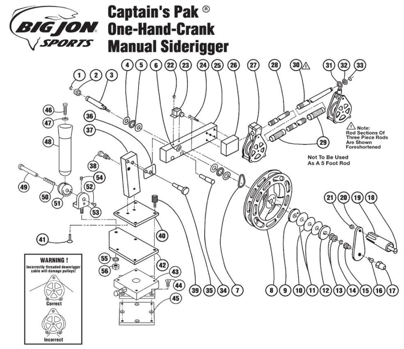 fishing rod and reel diagram