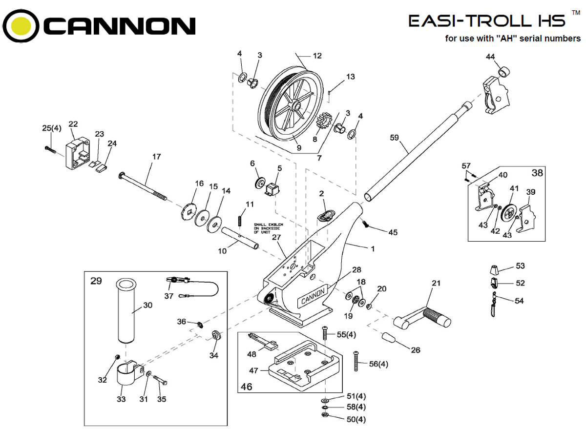 order cannon easi