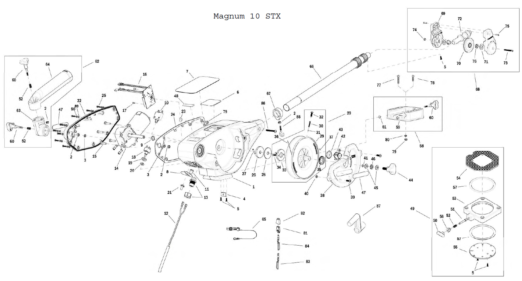Cannon_Mag_10_STX order cannon mag 10 stx downrigger parts online from fish307 com scotty downrigger wiring diagram at metegol.co