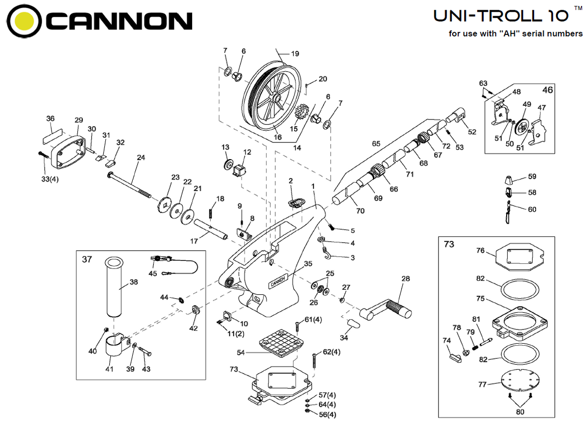 order cannon uni