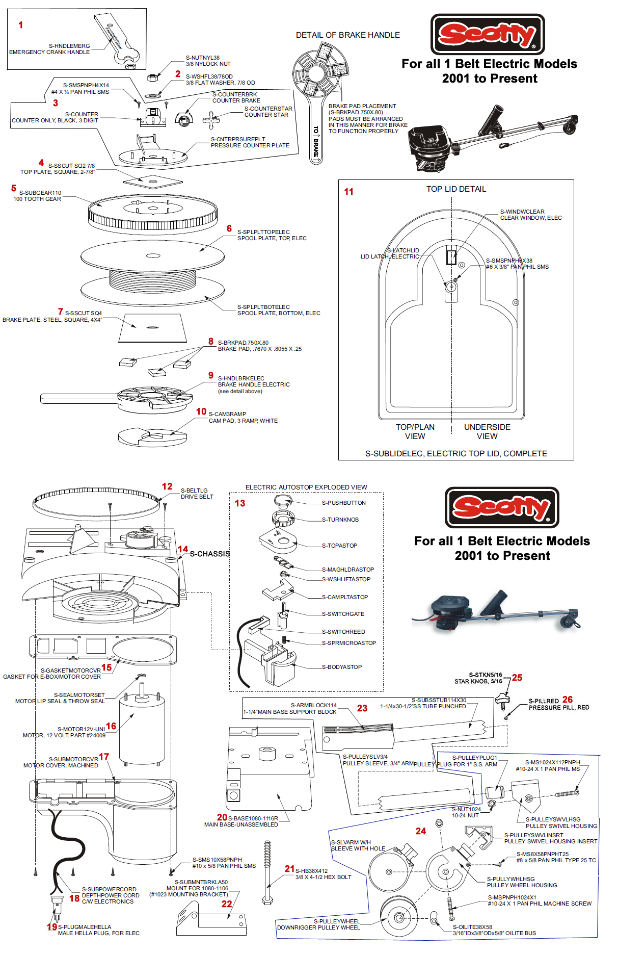 Scotty_1_belt_electric order scotty electric downrigger parts online from fish307 com scotty downrigger wiring diagram at metegol.co